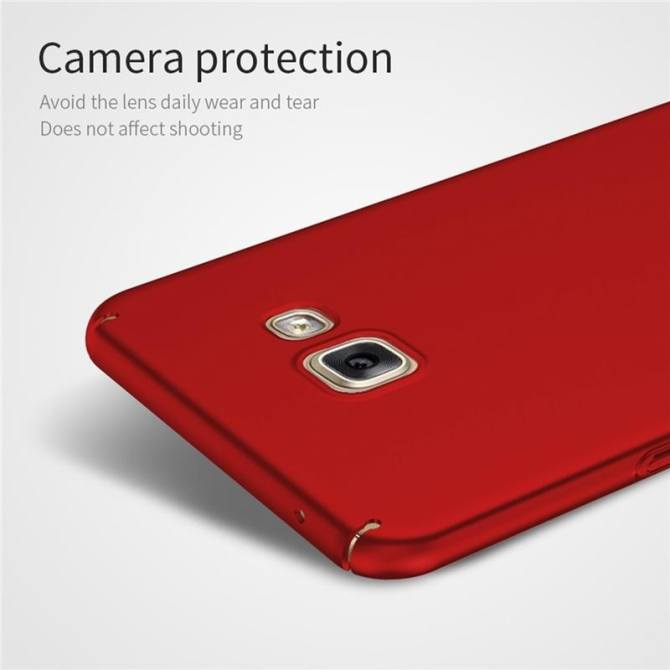 ... Smooth Grip Back Cover (Golden) - intl. Case for Samsung Galaxy A7 (2016) A710 Ultra-thin Hard PC Full Body