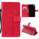 Bán Case For Sony Xperia Xa Ultra Flip Leather Wallet Magnetic Closure Case Hot Pink Intl Moonmini Trực Tuyến