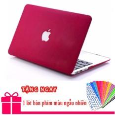 Bảng giá Case Ốp đỏ đô cho Macbook Air 13,3 inch + Tặng lót phím Phong Vũ