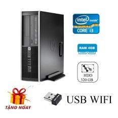 Hình ảnh Cây máy tính để bàn HP 6200 Pro Sff (CPU i3 2100, Ram 4GB, HDD 320GB, DVD) + Tặng USB Wifi - Hàng Nhập Khẩu