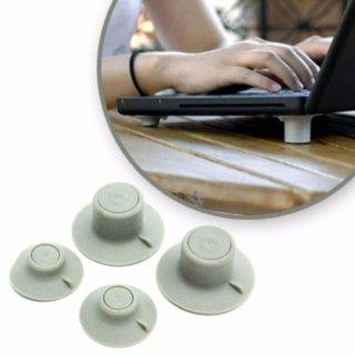 bộ nút tản nhiệt chuyên dụng cho laptop ( xám) thumbnail