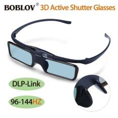 Hình ảnh Chunzao BOBLOV DLP-Link 96HZ-144HZ 3D Active Shutter Glasses Lightweight - intl