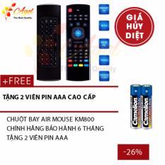 Hình ảnh CHUỘT BAY AIR MOUSE CHO Android TV Box, SmartTV chính hãng bảo hành 6 tháng tặng cặp pin cao cấp
