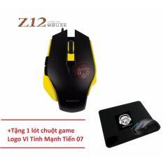 Chiết Khấu Chuột Chơi Game Co Day Zero Z12 Vang Đen Tặng Lot Chuột Hiệu Vi Tinh Mạnh Tiến