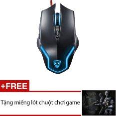 Giá Bán Rẻ Nhất Chuột Chơi Game Motospeed F61 Led 7 Mau Đen Tặng 1 Miếng Lot Chuột Chơi Game