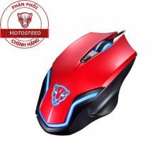 Chuột Chơi Game Motospeed Rbg Led Gaming Mouse F60 Dpi 2400 Đỏ Hang Phan Phối Chinh Thức Rẻ