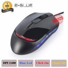 Bán Chuột Chuyen Game Co Day E Blue Ems145Bk Phien Bản Silenz Click Cực Em Đen E Blue Nguyên
