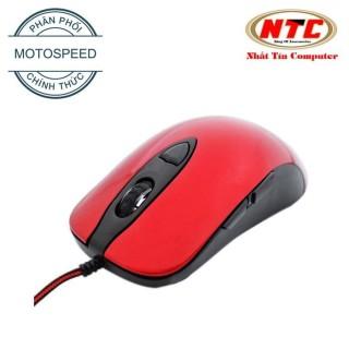 [HCM]Chuột chuyên game Motospeed V16 DPI2800 Led đa màu (Đỏ) - Hãng Phân Phối Chính Thức - Nhất Tín Computer thumbnail