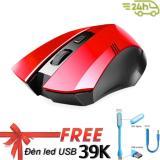 Chuọt Dành Cho Game Thủ Limeide G2 Wireless Optical Mouse Đen Tặng Đen Led Cổng Usb Limeide Chiết Khấu