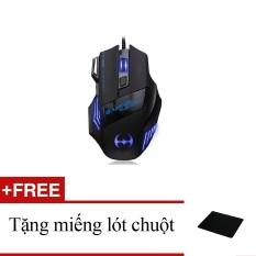 Ôn Tập Chuột Game Gaming Blood Bat New Arrival 2016 Tặng Kem Một Miếng Lot Chuột