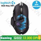 Chiết Khấu Chuột Game Logitech G502 Proteus Spectrum Tunable Rgb Led Đen Hang Phan Phối Chinh Thức Có Thương Hiệu