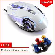 Chuột Game Thủ Cực G502 Bền Thiết Kế Độc Lạ Co Led Nhiều Mau Tặng Bộ Joystick Mini Hỗ Trợ Chơi Game Tren Smartphone Nguyên