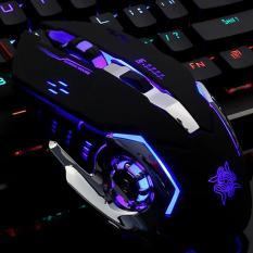 Chuột Game thủ DeTeK Divipad GearLord G502 có đèn LED đổi màu cực đẹp