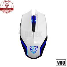 Cửa Hàng Chuột Game Thủ Motospeed V60 Dpi 3500 Optical Gaming Mouse Trắng Motospeed Hồ Chí Minh