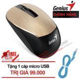 Giá Bán Chuột Genius Nx 7015 Wireless Vang Tặng Cap Sạc Romoss Micro Usb 1M Hang Phan Phối Chinh Thức Genius Tốt Nhất