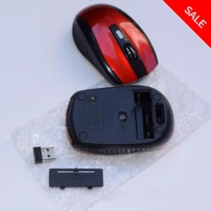 Chuột không dây DPI D6 Wireless Gaming Mouse (Đen)