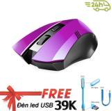 Giá Bán Chuọt Khong Day Game Thủ Limeide G2 Wireless Optical Mouse Tim Tặng Đen Led Cổng Usb Sieu Sang Mới