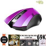 Cửa Hàng Chuọt Khong Day Game Thủ Limeide G2 Wireless Optical Mouse Tim Tặng Moc Khoa Đoi Thời Trang Limeide Hồ Chí Minh