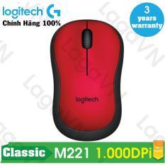 Mã Coupon Chuột Không Dây Logitech M221 Wireless Silent - Hãng Phân Phối Chính Thức