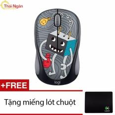 Bán Chuột Khong Day Logitech M238 Doodle Collection Lightbulb Tặng Lot Chuột Hang Phan Phối Chinh Thức Người Bán Sỉ