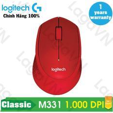 Mua Chuột Khong Day Logitech M331 Wireless Silent Hang Phan Phối Chinh Thức