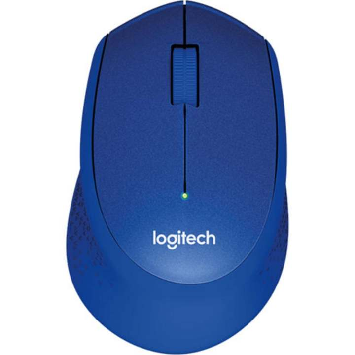 Chuột không dây Logitech M331 (Xanh)