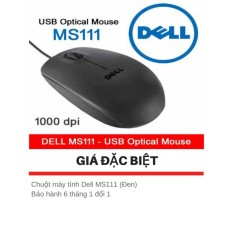 Chuột Máy Tính Dell MS111 - Bảo Hành 6 tháng 1 đổi 1 - Tặng kèm giá đỡ điện thoại hình con lợn  Sun Plaza