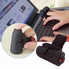 Chuột quang 3D đeo ngón tay SX80 tiện ích (Đen)
