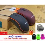 Chuột Quang Chân USB + Tặng Cổng Chuyển Đổi OTG