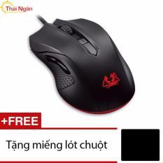 Bán Chuột Quang Chơi Game Asus Cerberus Đen Tặng Lot Chuột Rẻ Hồ Chí Minh