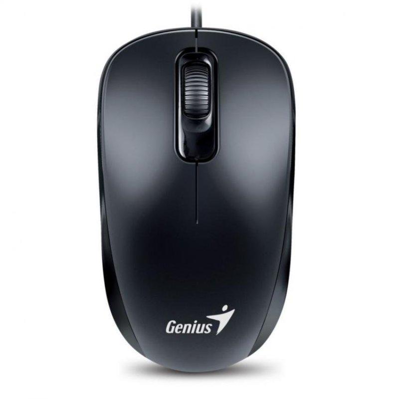 Chuột quang có dây Genius GENIUS DX-110 (Đen)