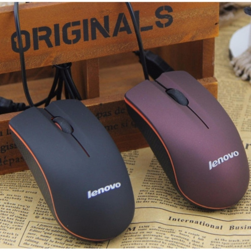 Chuột quang có dây Lenovo M20 nhỏ gọn xinh xinh