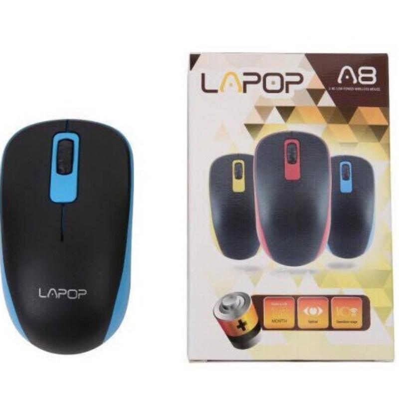 Chuột quang không dây cao cấp LAPOP A8