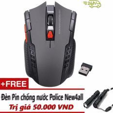 Chiết Khấu Sản Phẩm Chuột Quang Khong Day New4All Dpi Gaming Mouse Tặng Đen Pin Police 50K