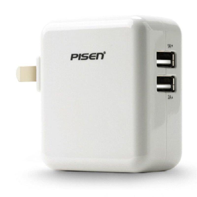 Cóc sạc ipad Pisen TS-FC026 12V (Trắng)