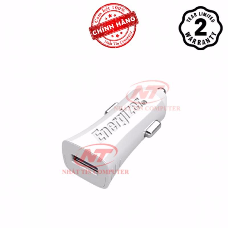 Cốc Sạc Ô tô Energizer 1A 1 cổng USB (Trắng) - Hãng phân phối chính thức