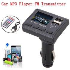 coconie Car Music MP3 Player FM Transmitter Modulator Dual USB Charging SD MMC Remote - intl