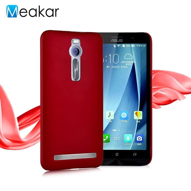 Colorful Ultra Slim Shockproof Hard Plactic Cell Phone Back Cover Case for Asus .