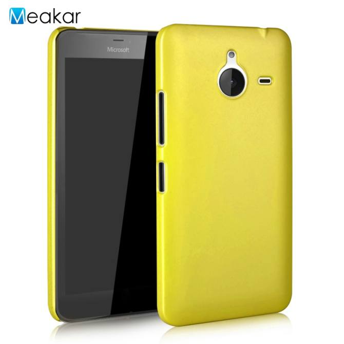 Colorful Ultra Slim Shockproof Hard Plactic Cell Phone Back Cover Case for Microsoft Nokia Lumia 640