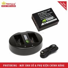 Giá Bán Combo 1 Pin 1 Sạc Wasabi Np W126 Dung Cho Fujifilm X A10 X A3 X E2S X E3 X T20 X T1 X T2 X Pro2 X100F Tốt Nhất
