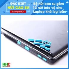 Hình ảnh Combo 2 Bộ 13 Nút Chống Bụi Laptop (Giao màu ngẫu nhiên) - Kim Hải Computer