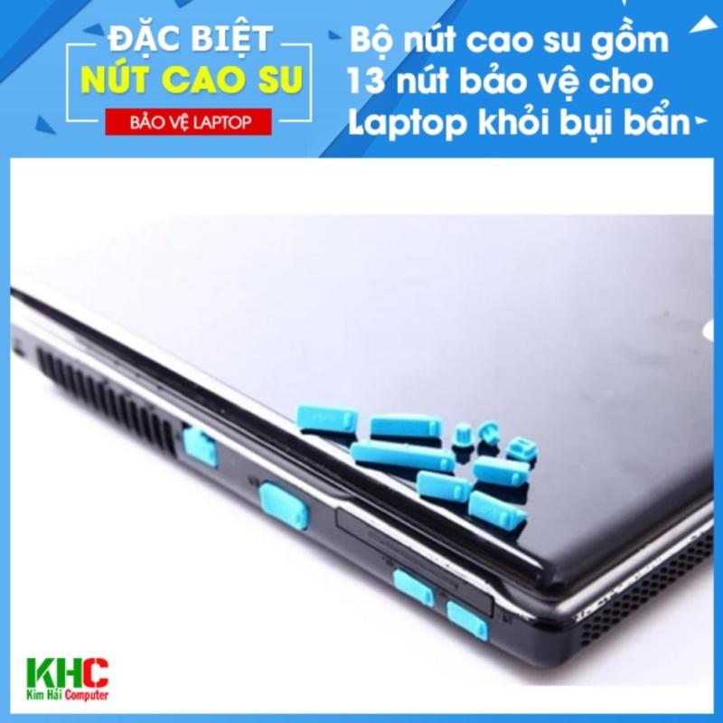 Combo 2 Bộ 13 Nút Chống Bụi Laptop (Giao màu ngẫu nhiên) - Kim Hải Computer