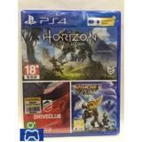 Combo 3 Game Ps4 Horizon Driveclub Ratchet Clant Nguyên