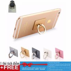 Combo 3 giá đỡ điện thoại hình chiếc nhẫn + Tặng kèm thẻ tích Verygood