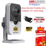 Giá Bán Combo Camera Ip Cube Wifi 2 0Mp Hikvision Ds 2Cd2420F Iw Nguyên