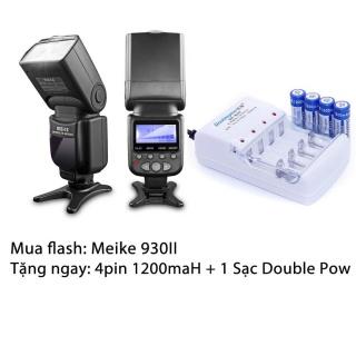 Combo Flash Meike 930IIs for Sony và Pin sạc DoublePow thumbnail