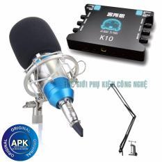Combo Karaoke Online Soundcard Xox K10 Micro Bm800 Chan Kẹp Ban Box Live Xox Ma1 Chiết Khấu Hồ Chí Minh