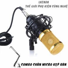 Giá Bán Combo Micro Thu Am Bm800 Co In Bm800 Chan Micro Kẹp Ban Chống Sốc Trực Tuyến