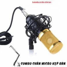 Ôn Tập Combo Micro Thu Am Bm800 Co In Bm800 Chan Micro Kẹp Ban Chống Sốc