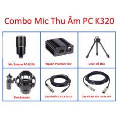 Cửa Hàng Combo Micro Thu Am Takstar Pc K320 Hồ Chí Minh